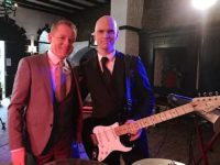 Damien and Declan at Video shoot for wedding band