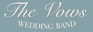 The Vows Wedding Band Logo